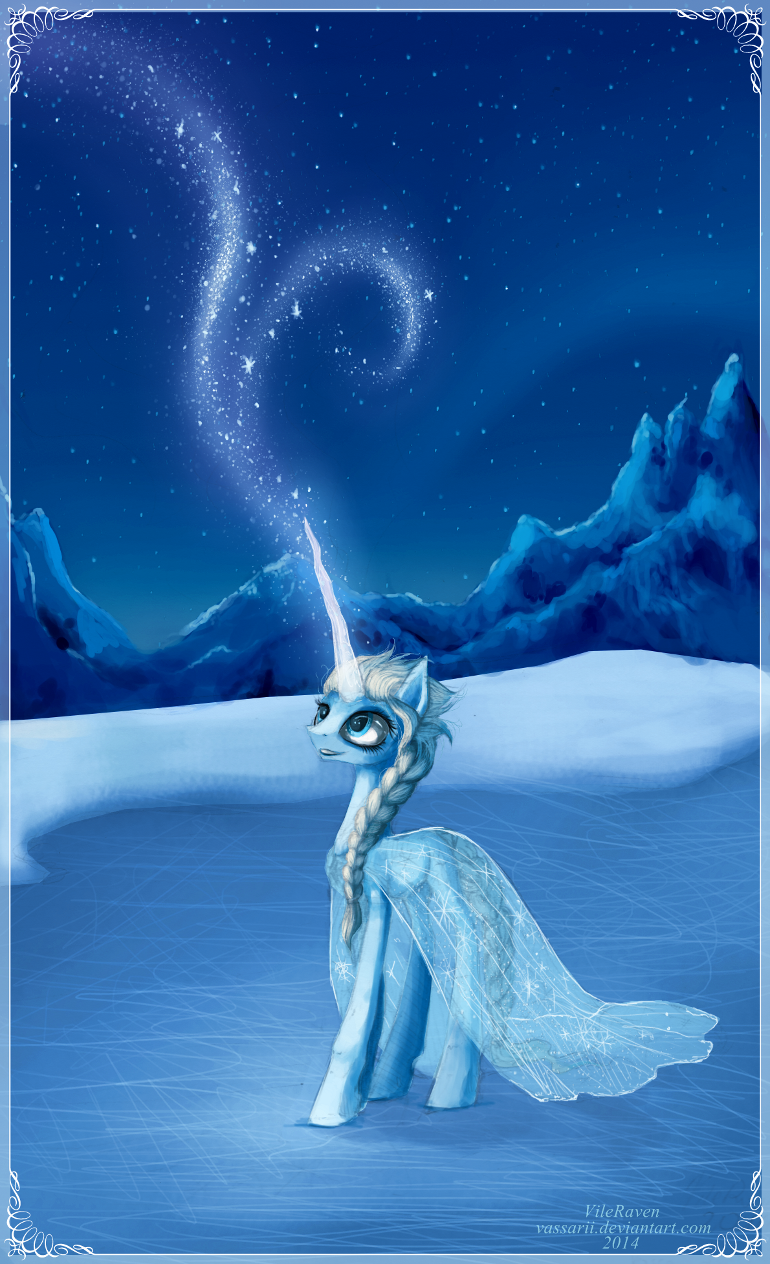 Pictures Frozen – Pony Elsa