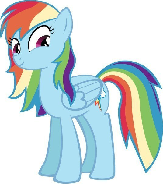 Pictures My Little Pony Rainbow Dash