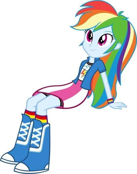 Pictures Equestria Girl Rainbow Dash