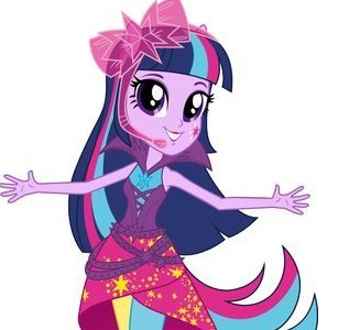 My Equestria Girl Twilight Sparkle