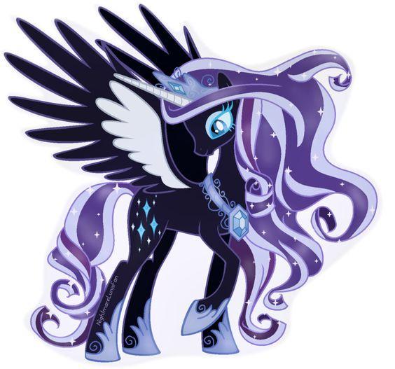 My Little Pony Princess Celestia Puple Picture
