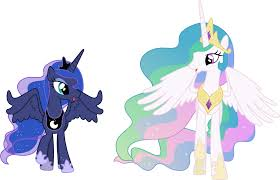My Little Pony Princess Celestia And Luna