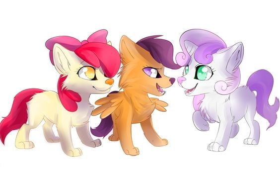 My Little Pony Cute Trio