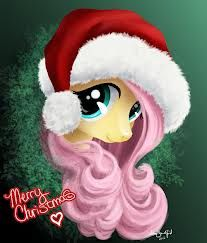 Merry Christmas MLP Head