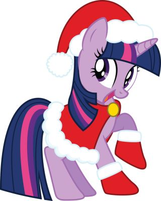 My Little Pony Merry Christmas Pictures