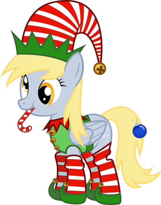 My Little Pony Pictures Christmas Head Picture