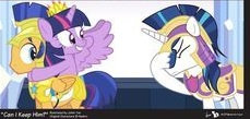 My Little Pony Caring Fun Picture