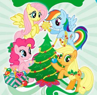 My Little Pony Pictures Merry Christmas Picture