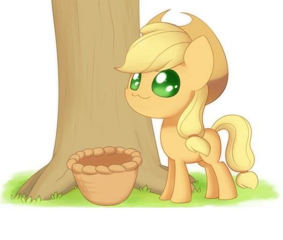 My Little Pony Baby Apple Jack Picture