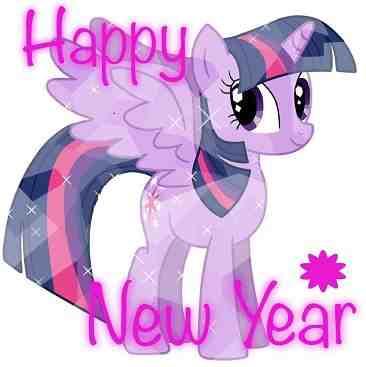 Twilight Sparkle Happy New Year 2019