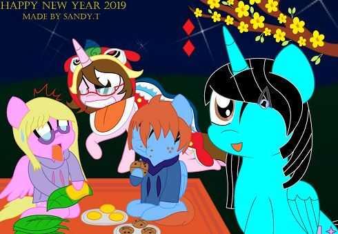 Happy New Year 2019 My Little Pony