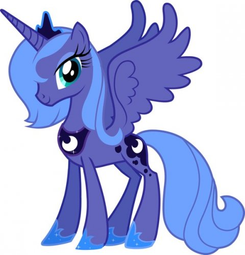 Pictures Pony Friendship is Miracle Princess Luna Picture