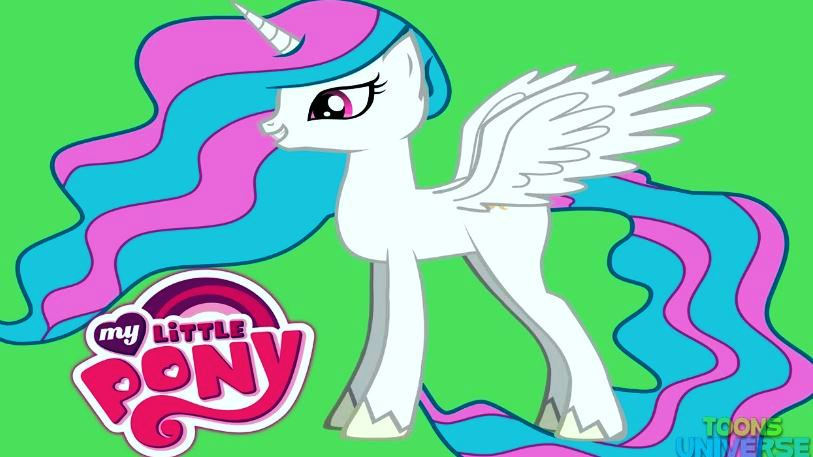 My Little Pony Princess Celestia Picture
