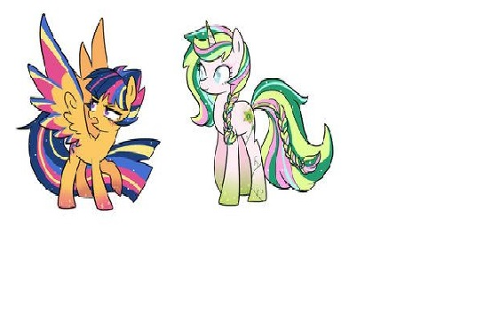 My Little Pony Princess AppleJack Picture And Fluttershy Picture
