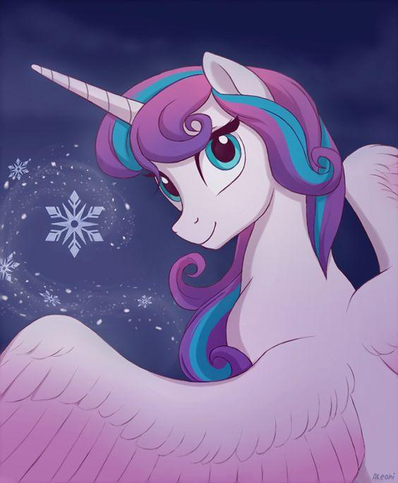 My Little Pony Princess Celestia Hair Picture