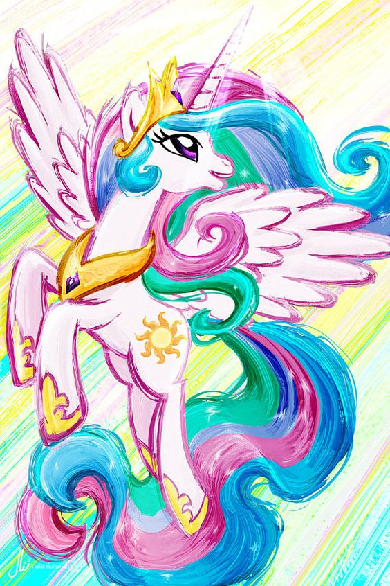 Equestria Princess Celestia Picture