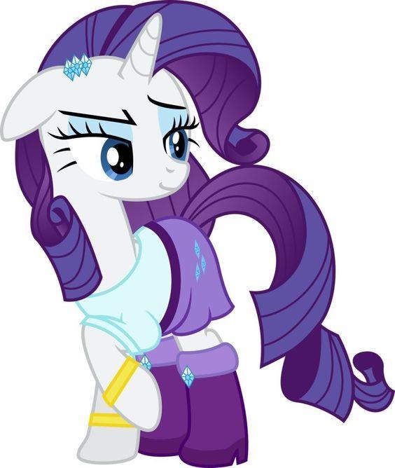 My Little Pony Rainbow Power Rarity Picture