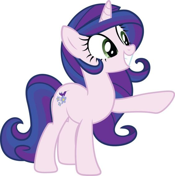 My Little Pony Purple Coloring Picture