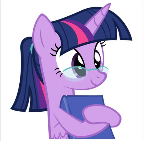 My Little Pony At School Picture