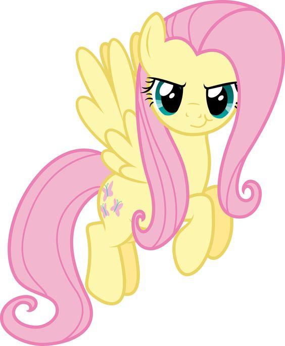 My Little Pony Cute Fluttershy Eyes Picture