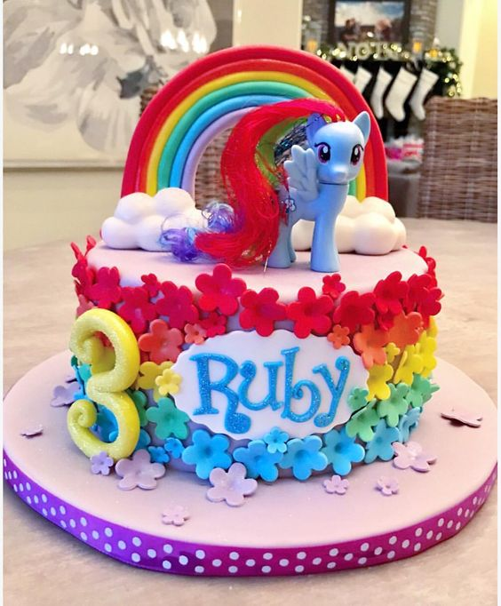 My Little Pony Birthday Cake Picture