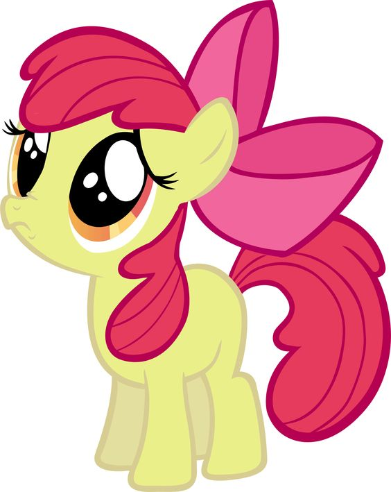 My Little Pony Princess Apple Bloom Character Picture