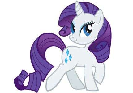 My Little Pony Rarity Character Picture
