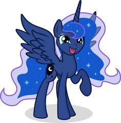 My Little Pony Princess Luna Character Picture