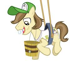 My Little Pony Hayseed Turnip Truck Character Picture