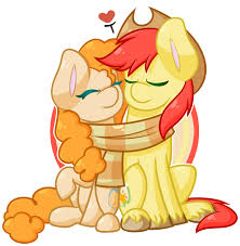 My Little Pony Bright Mac And Pear Butter Character Picture