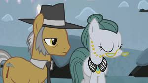 My Little Pony Igneous Rock Pie And Cloudy Quartz Character Picture