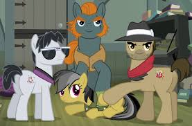 My Little Pony Dr Caballeron And Henchponies Character Picture