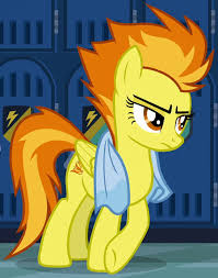My Little Pony Spitfire Chacracter