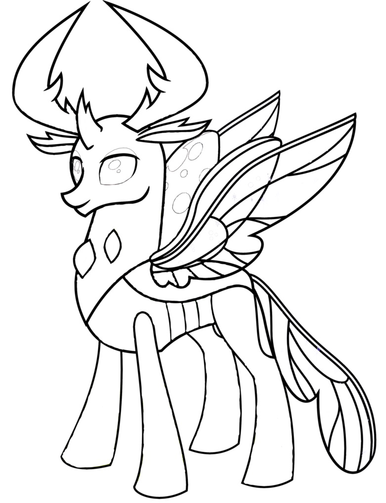My Little Pony Thorax Coloring Coloring Page