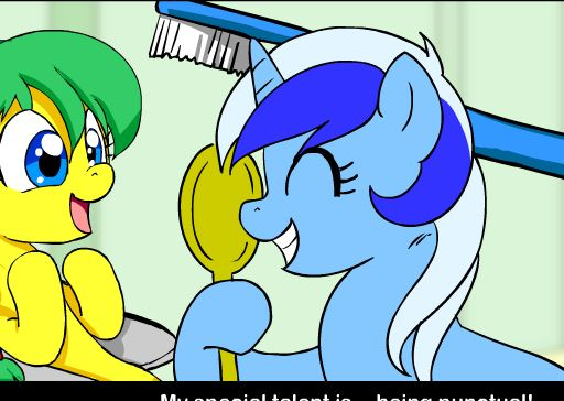 My Little Pony Minuette vs Tardiness Game