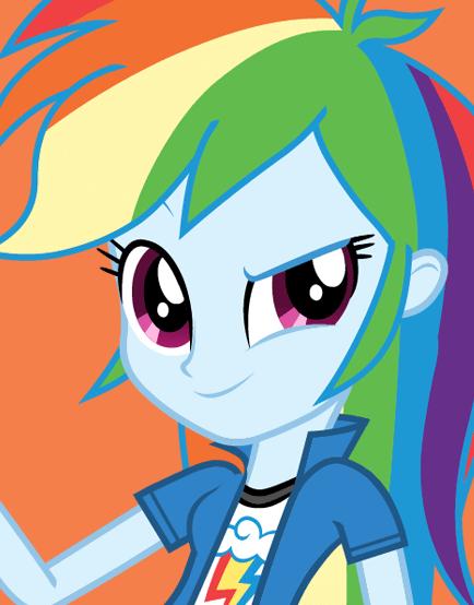 My Little Pony Equestria Girls Rainbow Dash Picture