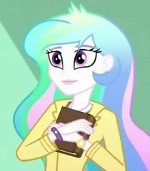 My Little Pony Equestria Girls Principal Celestia Picture