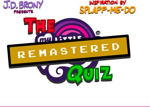 My Little Pony Quiz Remastered Game