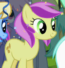 My Little Pony Lavender Fritter Character Picture