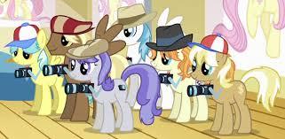 My Little Pony Paparazzi Ponies Picture
