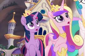 My Little Pony The Film Series With Many Cute Characters