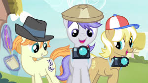 My Little Pony Paparazzi Character Picture