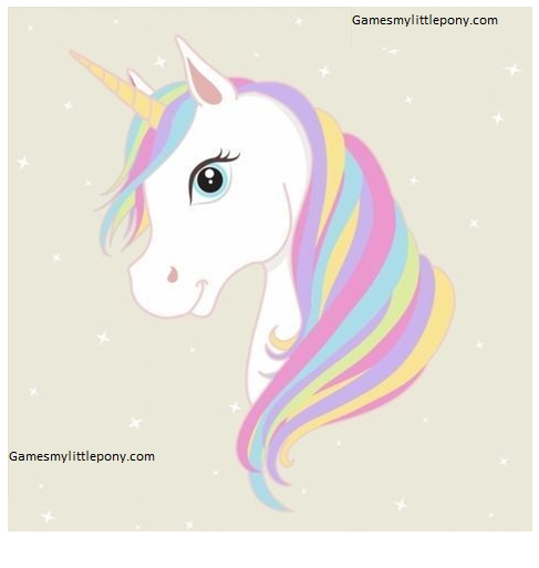 Unicorn Horn Coloring  Coloring Page