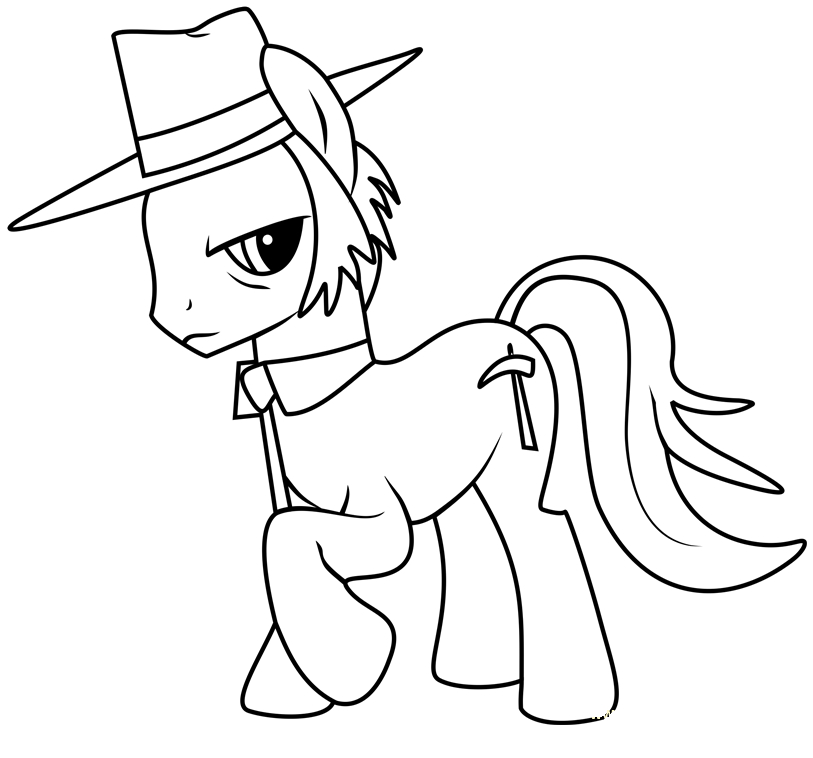 Mlp Coloring Igneous Rock Pie  Coloring Page