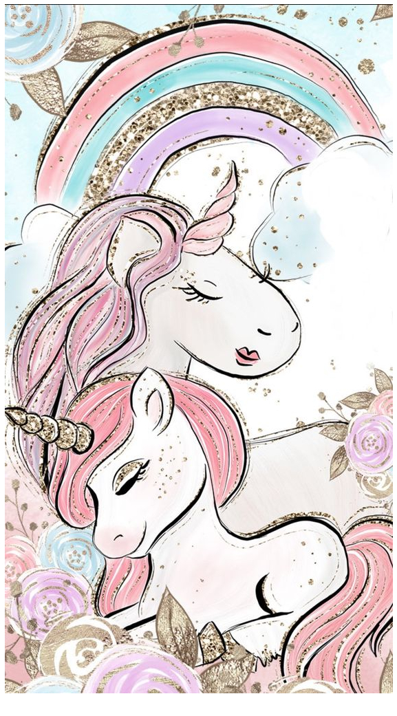 Unicorn Painting  Coloring Page