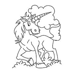 Ki To Unciorn Coloring Page Coloring Page