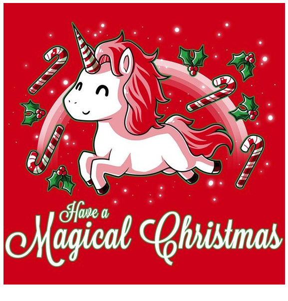 Have A Magical Christmas  Coloring Page