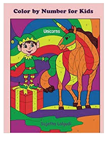 Unicorn Christmas With A Gift Box  Coloring Page