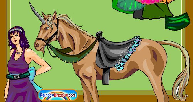 Unicorn Princess Game