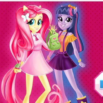 Equestria Girls First Day At High School Game